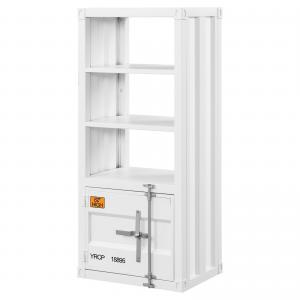 Acme Cargo Rectangular Metal Frame Left Side Pier in White