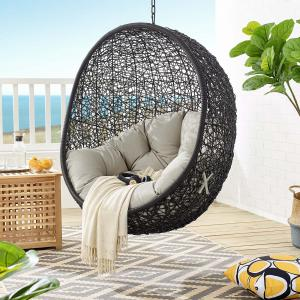 Modway Encase Swing Outdoor Patio Lounge Chair Without Stand, Multiple Colors