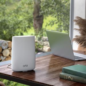 NETGEAR Orbi™ 4G LTE 2.2Gbps Tri-Band Unlocked Advanced Whole Home WiFi Router (LBR20-100NAS)