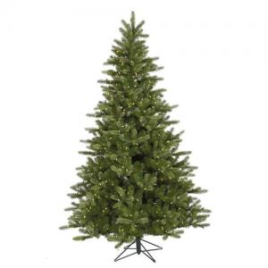 Vickerman 12′ King Spruce Artificial Christmas Tree with 1650 Warm White LED Lights
