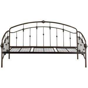 Weston Home Ryde Metal Twin Daybed, Bronzed Black