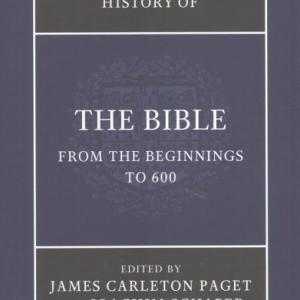 New Cambridge History of the Bible: The New Cambridge History of the Bible 4 Volume Set (Other)