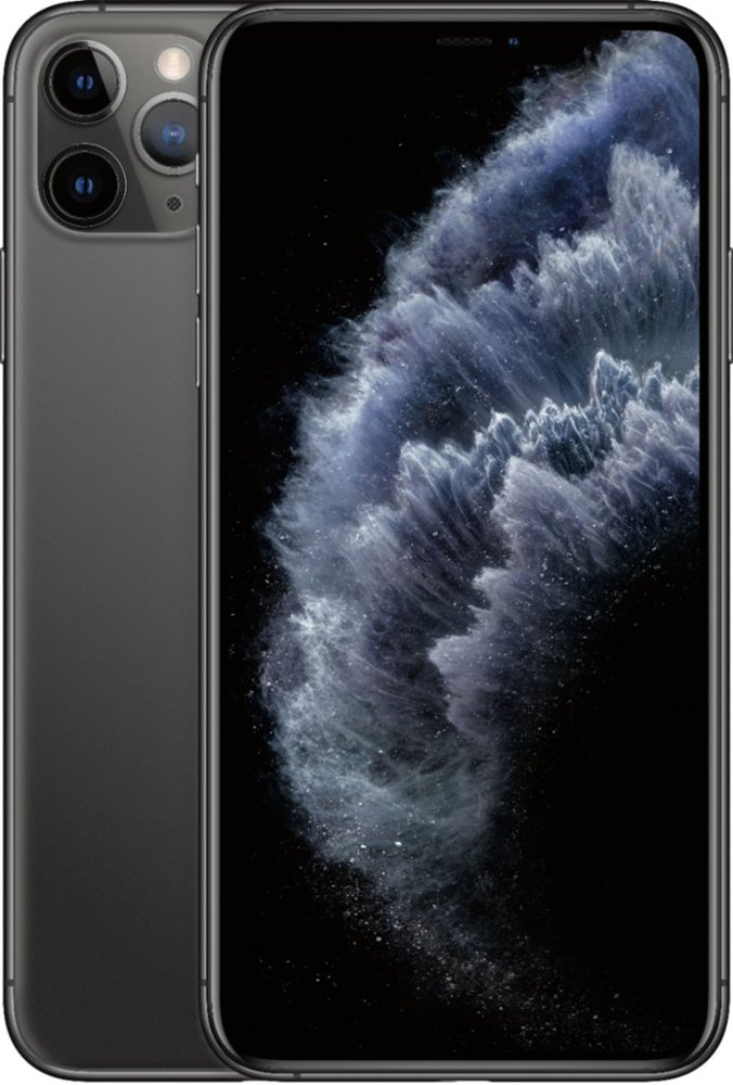 Apple iPhone 11 Pro Max 64 GB Space Gray Fully Unlocked A Grade Refurbished Smartphone