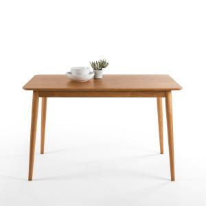 Zinus Jen 47″ Wood Dining Table, Natural