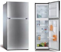 RCA – 10 Cu Ft Top-Freezer Apartment-size Refrigerator – Stainless