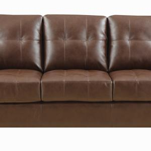 Samuel Transitional Dark Brown 85″ Sofa/Couch