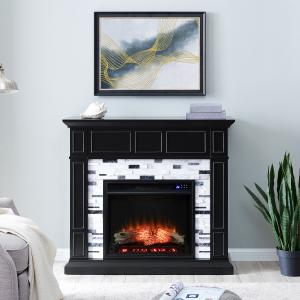 Drovlinile Marble Electric Fireplace