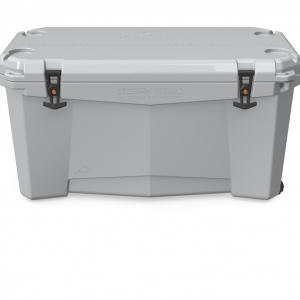 Ozark Trail 110-Quart High Performance Thermocooler with Wheels, Gray