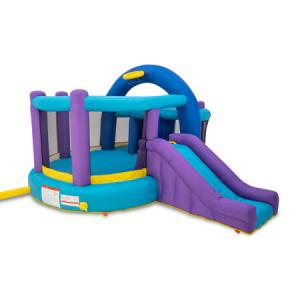 Inflatable Bounce House with Kid's Whack-A-Play and Basketball Hoop