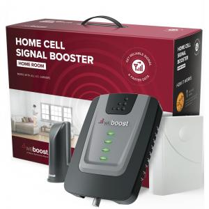 weBoost Home Room (472120) Cell Phone Signal Booster, FCC Approved, All U.S. Carriers – Verizon, AT&T, T-Mobile, Sprint & More, USA Company