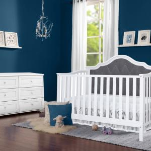 Windermere 4-in-1 Tufted Convertible Crib