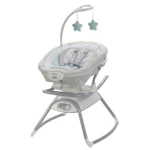 Graco Duet Glide Gliding Baby Swing with Portable Rocker, Winfield