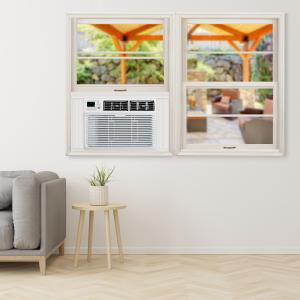 TCL 15,000 BTU White Window Air Conditioner with Wi-Fi