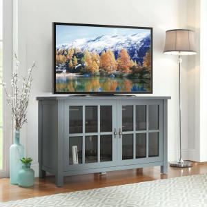 Better Homes & Gardens Oxford Square TV Stand for TVs up to 55″, Blue