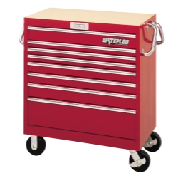 36″ Magnum 8-Drawer Tool Cart-Red