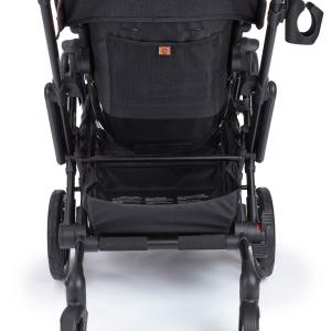 Contours Curve Double Stroller, 6-wheel Design, Easy Navigation, Multiple Seating Configurations