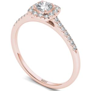 In Love By Brides 3/8ct Tw Diamond Cushi