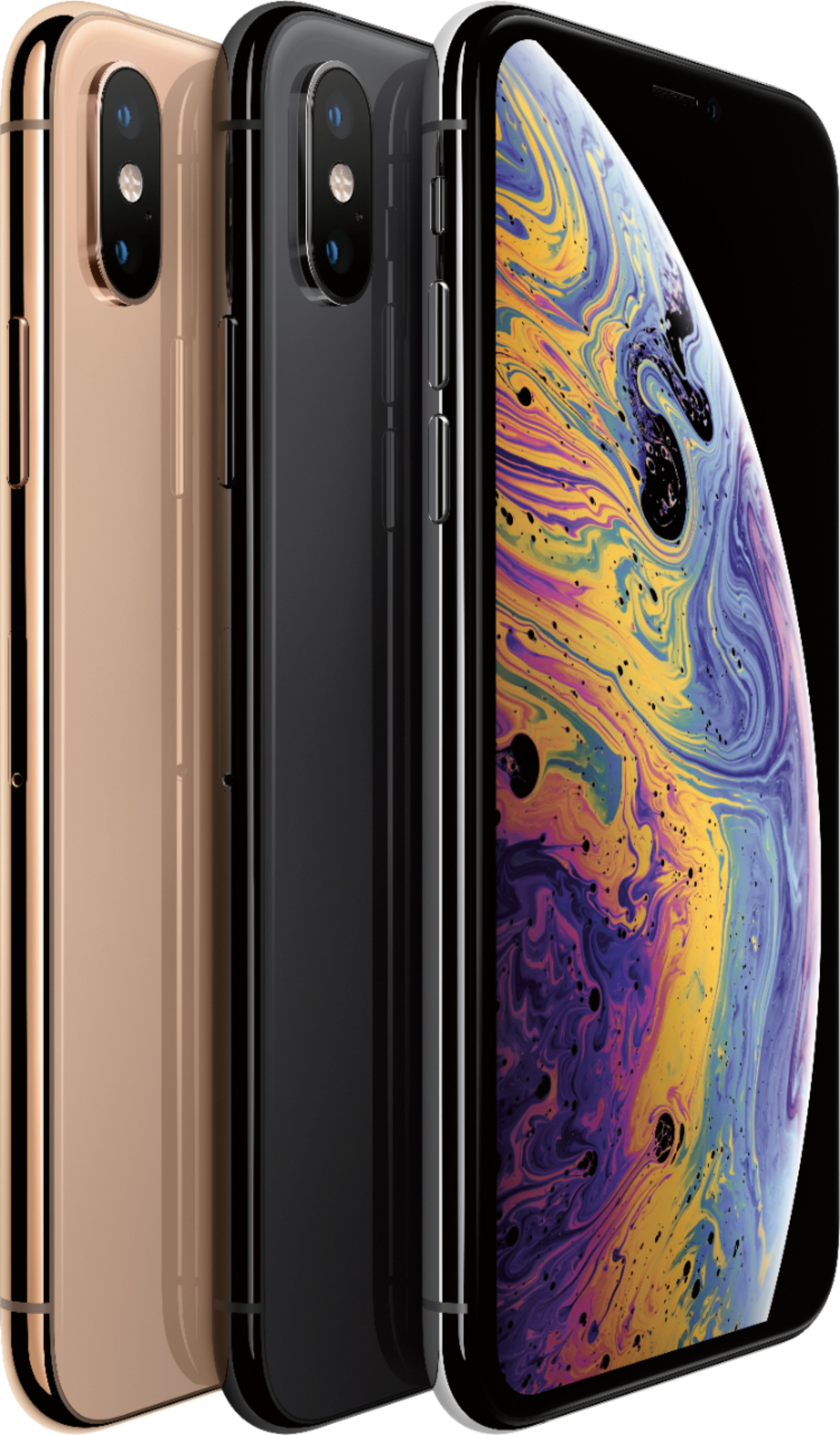 Apple iPhone XS 512GB Silver A Grade Refurbished Fully Unlocked Smartphone
