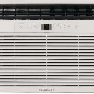 Energy Star 25,000 BTU 230V Window-Mounted Heavy-Duty Air Conditioner with Full-Function Remote Control