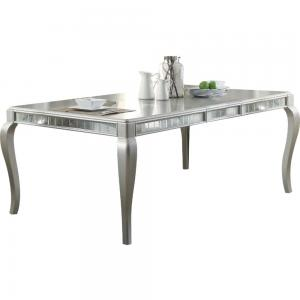 ACME Francesca Dining Table, Champagne