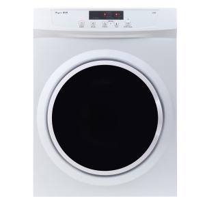 3.5 cu.ft. Compact Electric Standard Dryer with Refresh function, Sensor Dry, Wrinkle guard