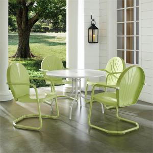 Crosley Furniture Griffith Outdoor Patio Dining Set, Multiple Colors