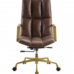 Rolento Executive Office Chair in Espresso Top Grain Leather