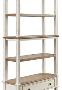 Signature Design by Ashley Realyn Two-tone Bookcase