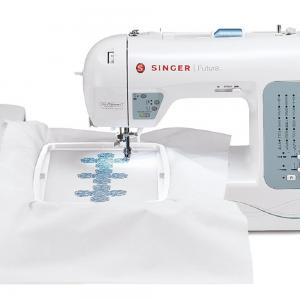 SINGER® Futura™ XL-400 Sewing and Embroidery Machine with 125 Embroidery Designs and 30 Built-in Stitches