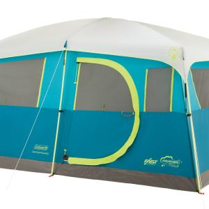 Coleman Tenaya Lake Fast Pitch 8-Person Cabin Tent with Closet