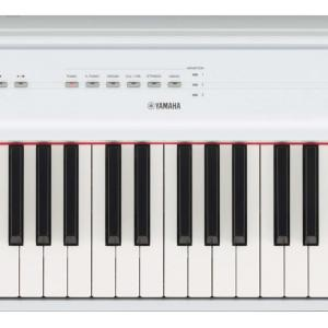 Yamaha P125 88 Weighted Key Digital Piano with CF Sound Engine and Damper Resonance DSP, White