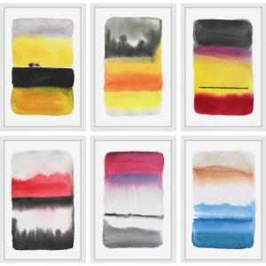 Watercolor Hexaptych