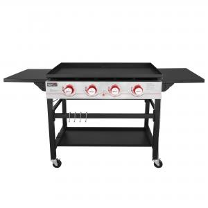 Royal Gourmet GB4000 Flat Top Gas Grill, 36-Inch Griddle, 4-Burner, For Outdoor Events, Camping, BBQ