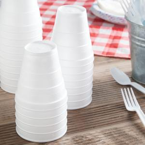 Great Value Foam Cups, 8 oz, 51 count