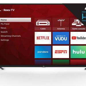 TCL 43″ Class 4K UHD LED Roku Smart TV 4 Series 43S421