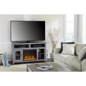 Carver Fireplace TV Stand up to 60″, Multiple Colors