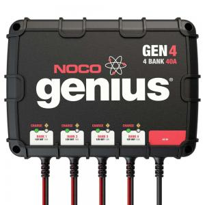 NOCO Genius GEN4 40 Amp 4-Bank On-Board Battery Charger