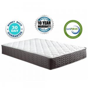 Mobilis 12″ Inch Certified Independently & Individually Wrapped Pocketed Encased Coil Pocket Spring Contour Mattress, KING