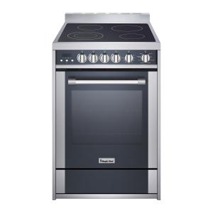 Magic Chef 24″ Freestanding Electric Range in Stainless Steel/Black