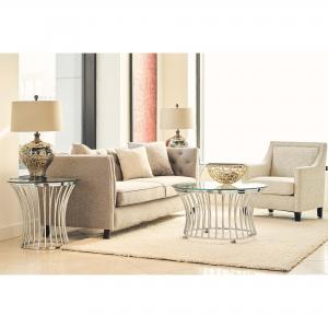 Picket House Furnishings Astoria 3PC Occasional Table Set-Coffee Table & Two End Tables