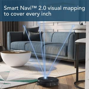 ECOVACS DEEBOT 711S Robot Vacuum Cleaner with App, 130 Minute Battery Life