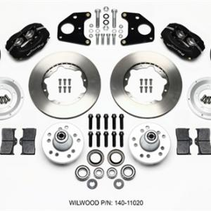 Wilwood Forged Dynalite Front Kit 11.00in 62-72 CDP B & E Body-Drum