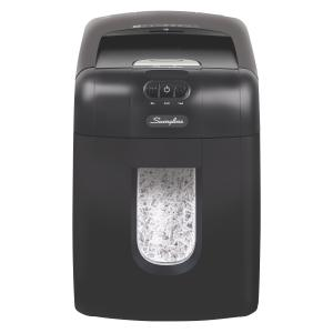 Swingline Stack-and-Shred 130X Auto Feed Shredder, Super Cross-Cut (1757571D)