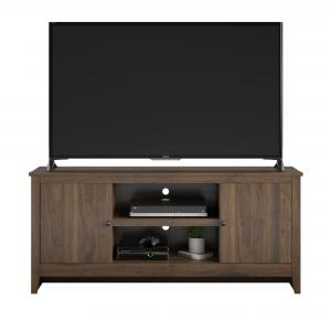 Mainstays TV Stand for TVs up to 65″, Walnut