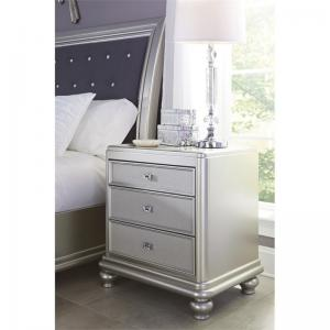 Signature Design by Ashley Coralayne Silver Nightstand