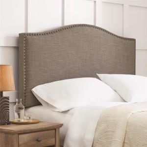 Better Homes and Gardens Grayson Linen Headboard with Nailheads, Multiple Colors, Multiple Sizes – Full/Queen
