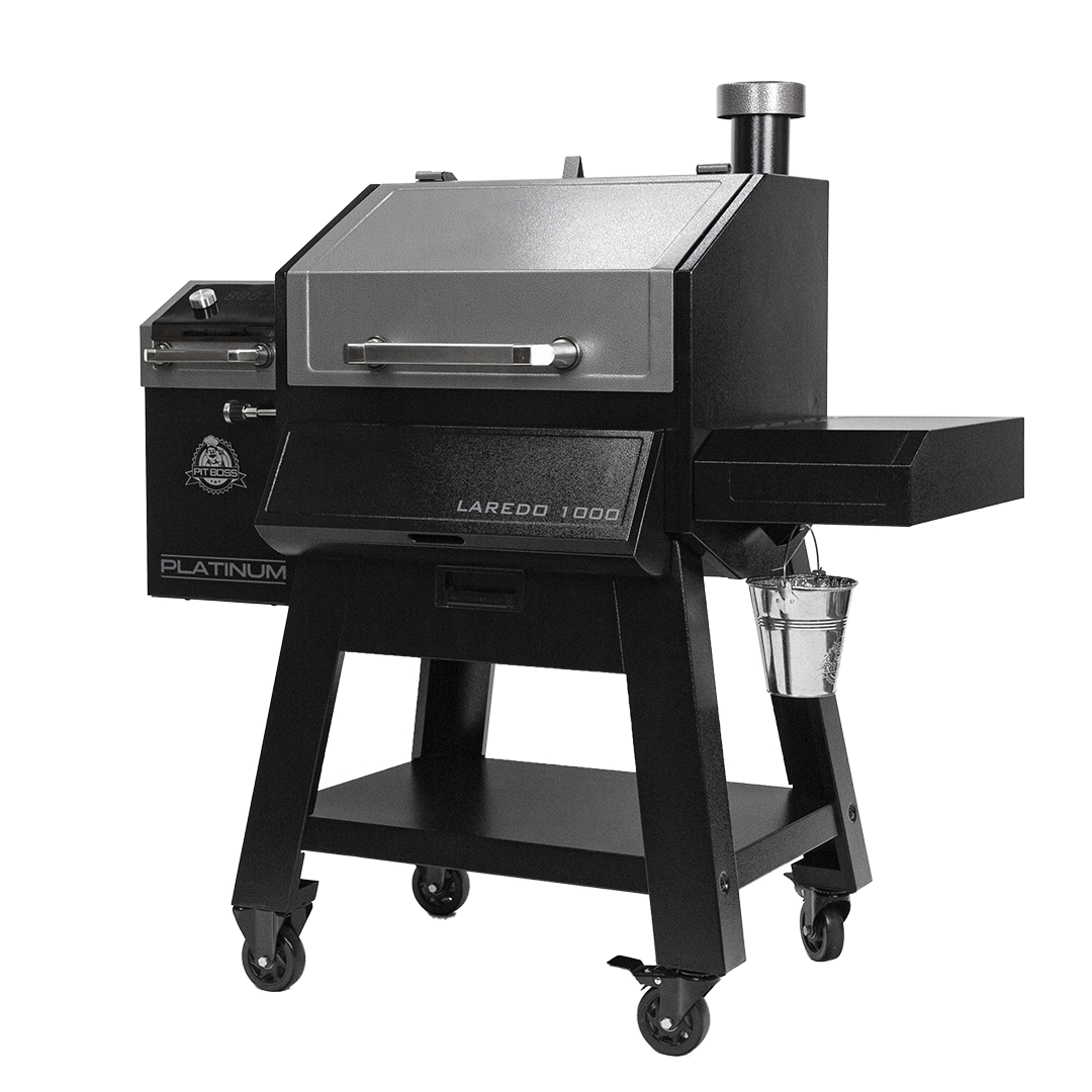 Pit Boss Platinum Series Laredo 1000 Sq. In. Wifi Enabled Wood Pellet Grill and Smoker