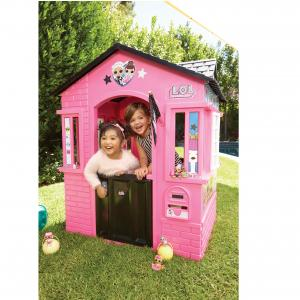 L.O.L. Surprise! Indoor and Outdoor Cottage Playhouse with Glitter
