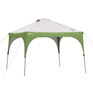 Coleman 10'x10′ Instant Canopy Sun Shade Tent with 3 Minute Setup