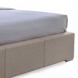 Baxton Studio Sarter Contemporary Grid-Tufted Fabric Upholstered Storage Bed with 2-drawer, Multiple sizes, Multiple Colors
